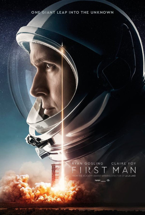 First Man   (2018) dir. Damien Chazelle Rated: PG-13 image: ©2018  Universal Pictures