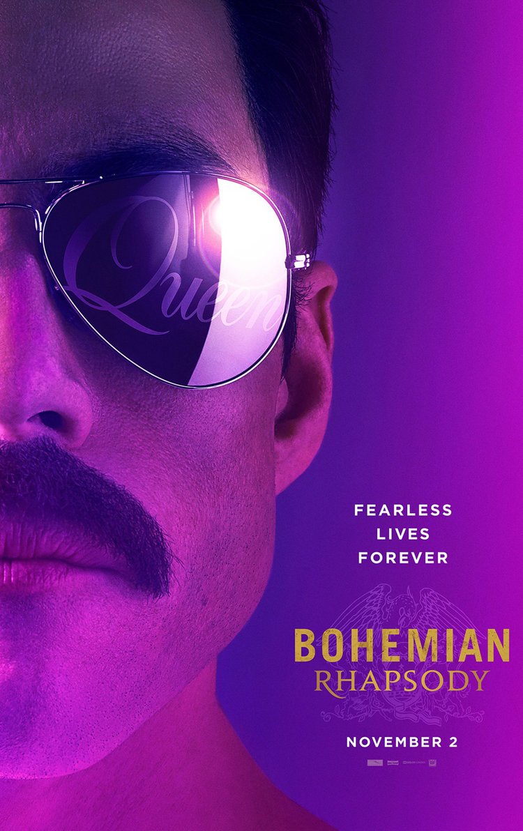 Bohemian Rhapsody   (2018) dir. Bryan Singer Rated: PG-13 image: ©2018  20th Century Fox