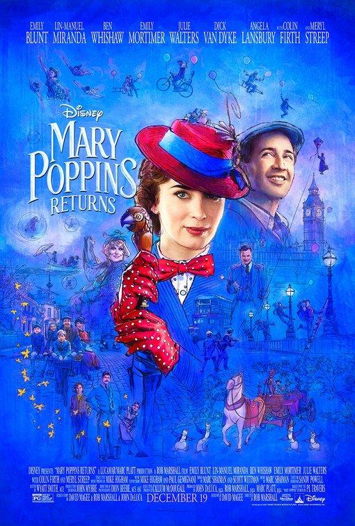 Mary Poppins Returns   (2018) dir. Rob Marshall Rated: PG image: ©2018  Walt Disney Studios