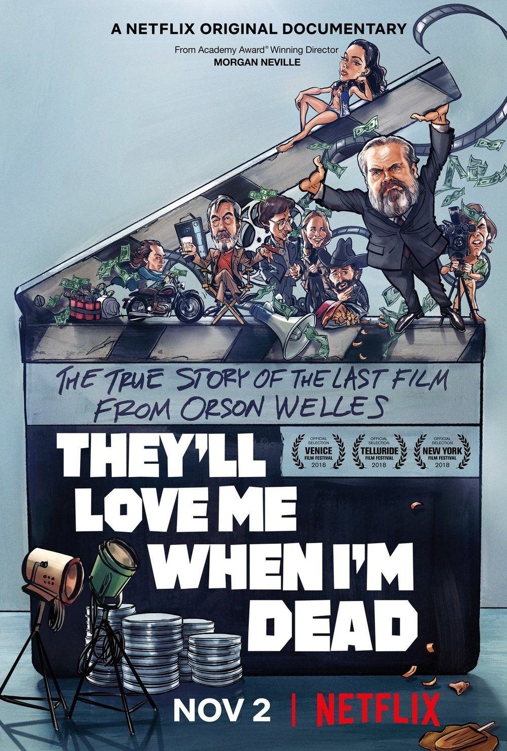 They'll Love Me When I'm Dead   (2018) dir. Morgan Neville Rated: N/A image: ©2018  Netflix