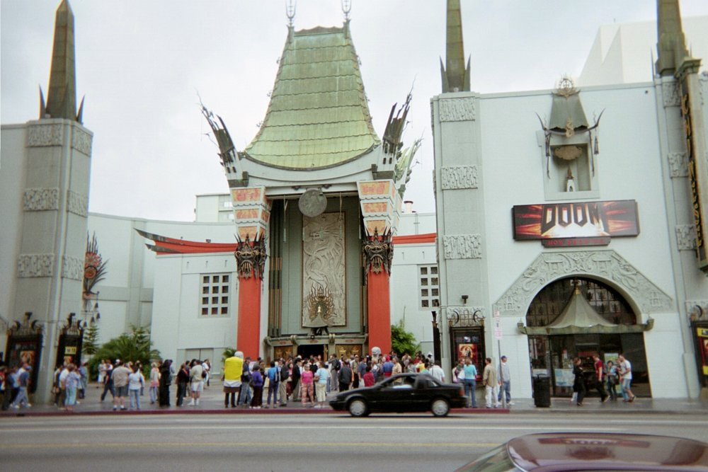 The famous TCL Chinese Theater. Ask me about the one and only movie I've seen there.