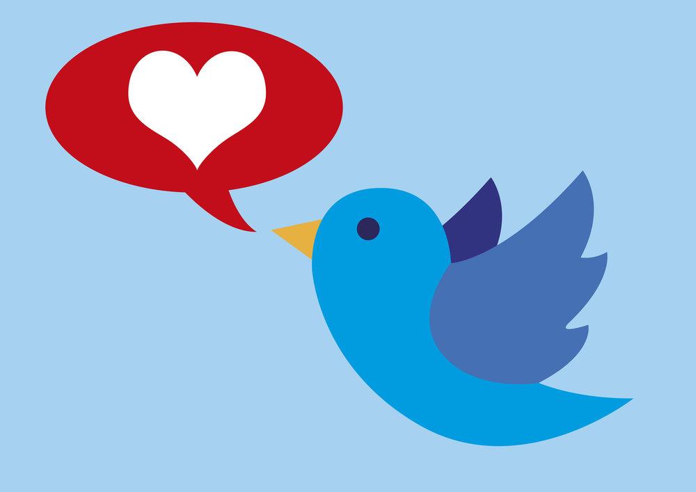 tweet like