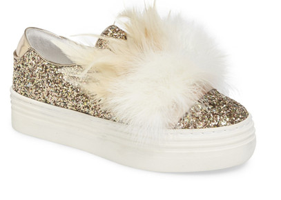 Here / Now Michelle Feather Slip-On Sneaker (Women)   ON SALE $79.97  $250.00