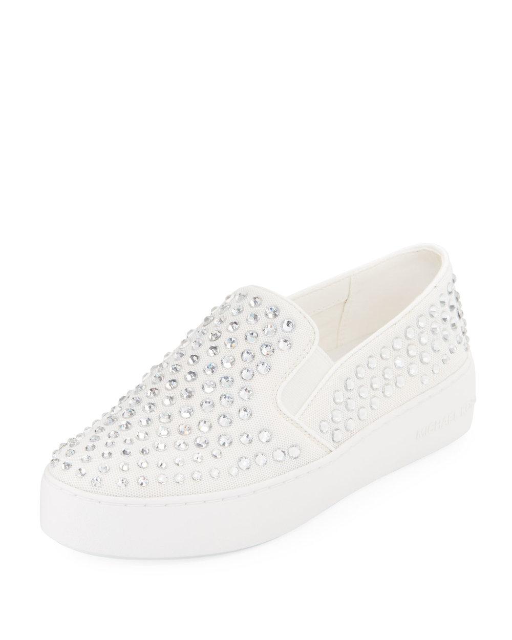 MICHAEL Michael Kors Trent Crystal Mesh Skate Sneaker   $125.00