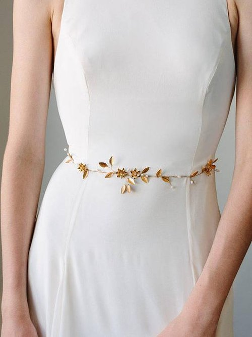 Finishing Touches Styling A Wedding Gown With Bridal Belts Nk Bride