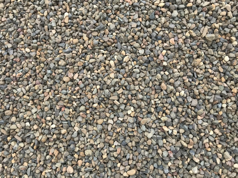 decorative gravel brown 20mm