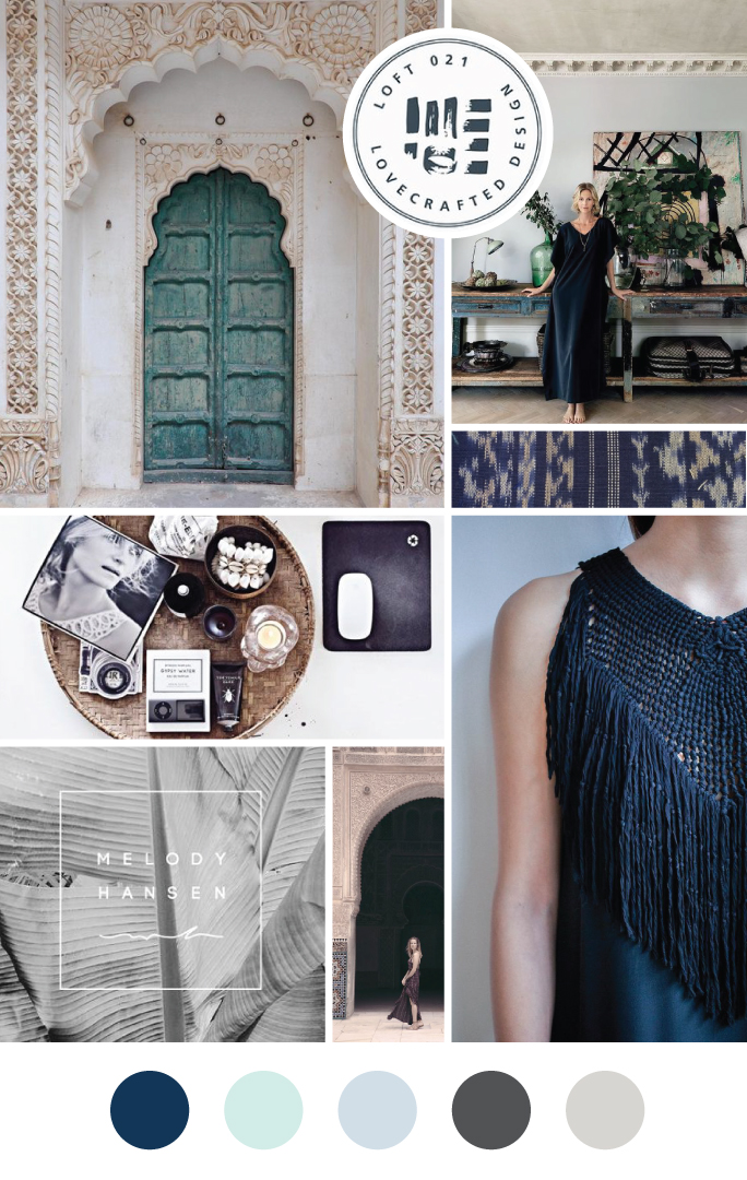 Salty Spruce Photography Studio Moodboard