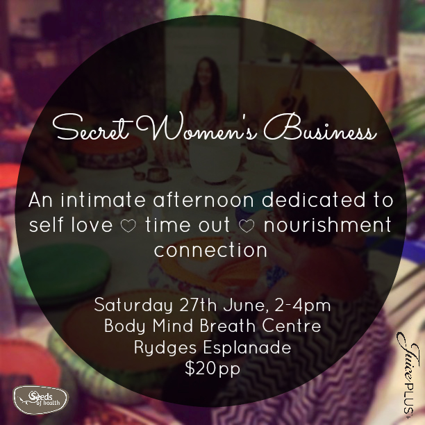 A nourishing women's gathering to reset, recharge and regroup