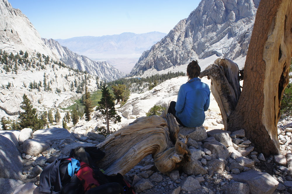 the end of my 21 day trek on the JMT trail, usa - 2016