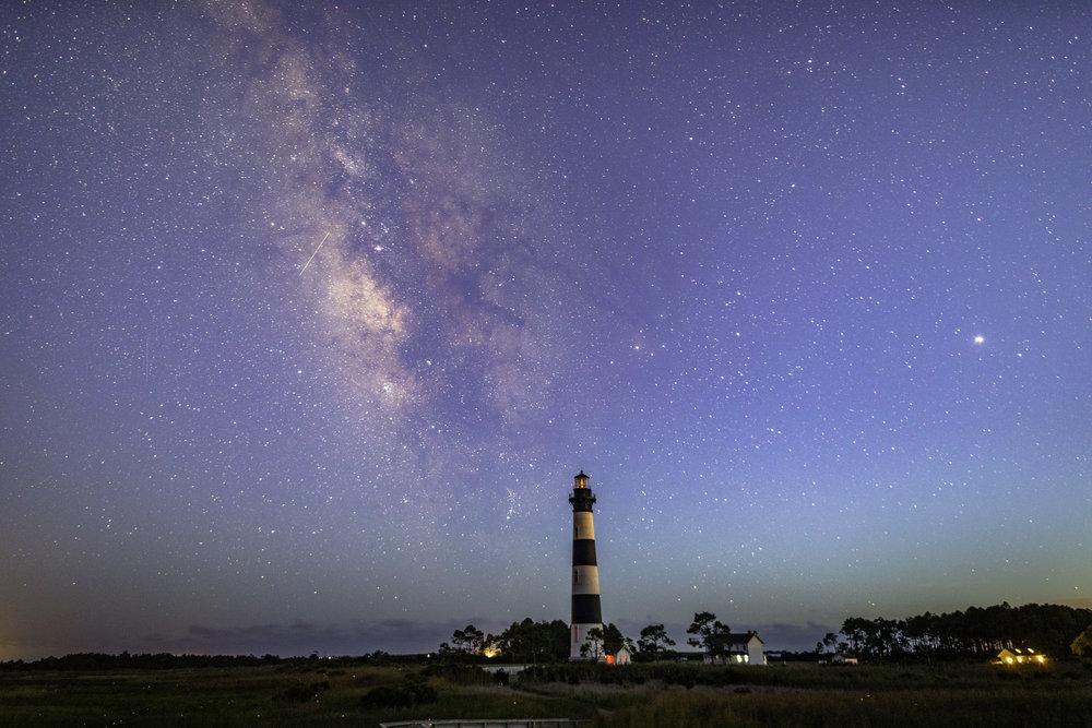 Blue Hour Milky Way