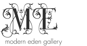 My work can be found at Modern Eden Gallery in San Francisco in addition to the  Elements & Artifacts  online shop.