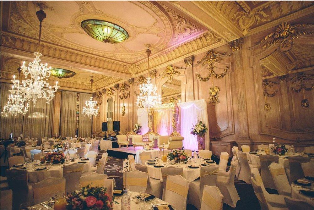 Le Meridien Wedding Reception