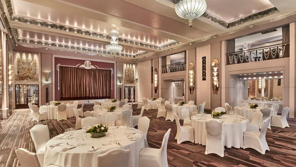 The Sheraton Grand London Wedding Venue