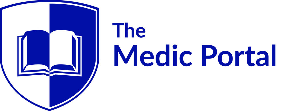 WHITE_Medic Portal logo_with strapline_outlined.jpg