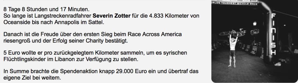 Nominierung Sportler mit Herz — Severin Zotter