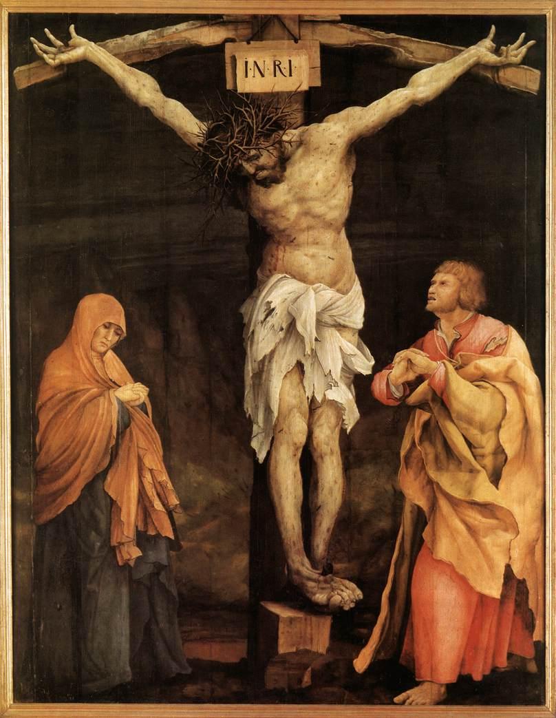 Crucifixion by Matthias Grunewald