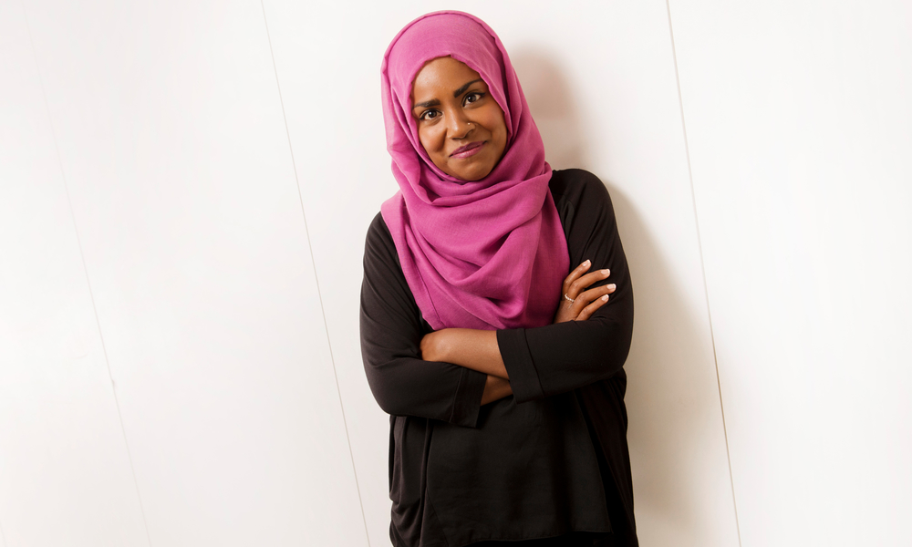 Nadiya Hussain winner of the British Bake Off