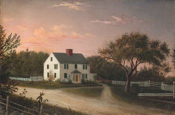 19th Century New England painting by  Mary Blood Mellen