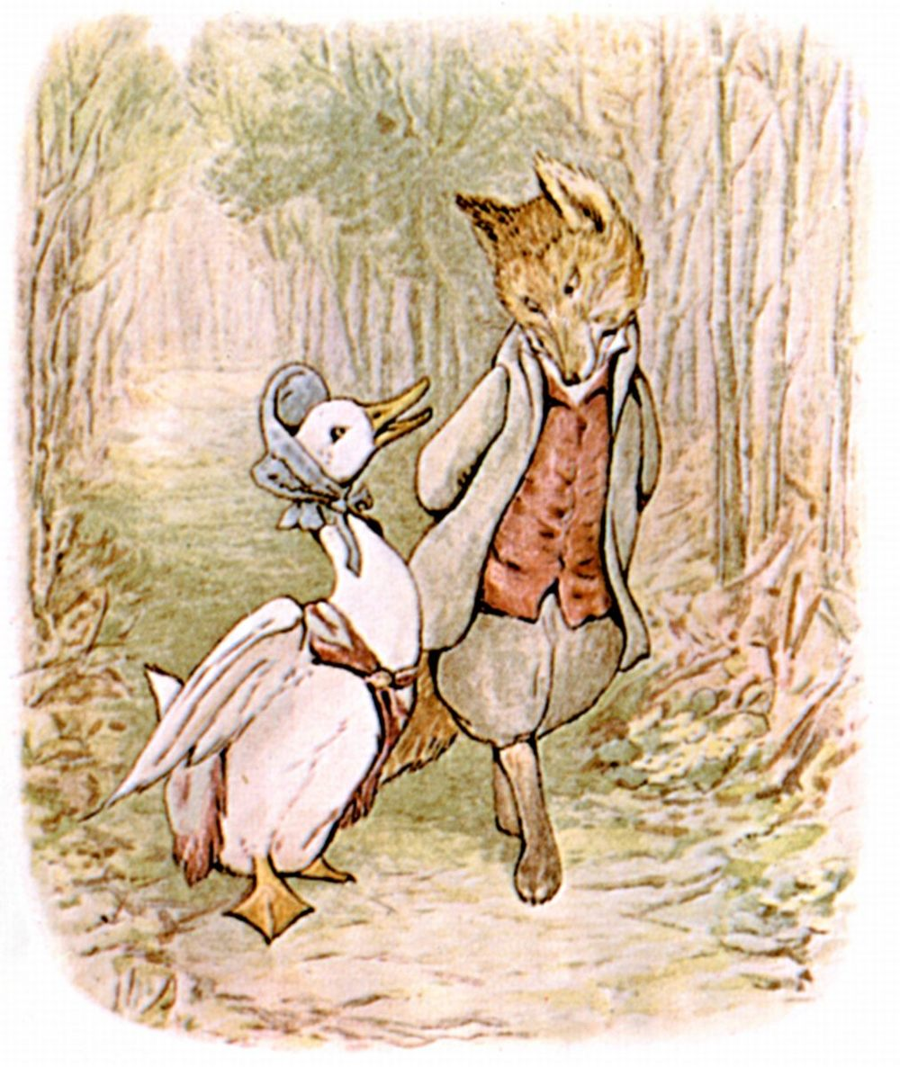 Jemima Puddle-Duck & Foxy Gentleman