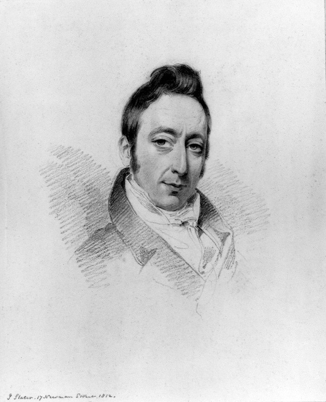 J. B. White by Joseph Slater, 1812. Age 37