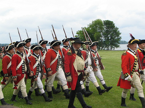 18th Century British Soldiers.