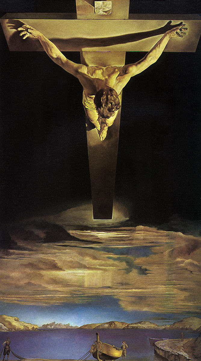Christ of Saint John of the Cross by Salvador Dali, 1951
