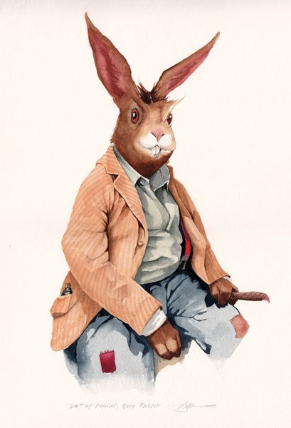 Brer Rabbit by Barry Moser