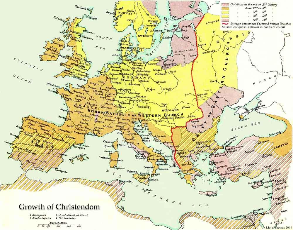 Behold Christendom!
