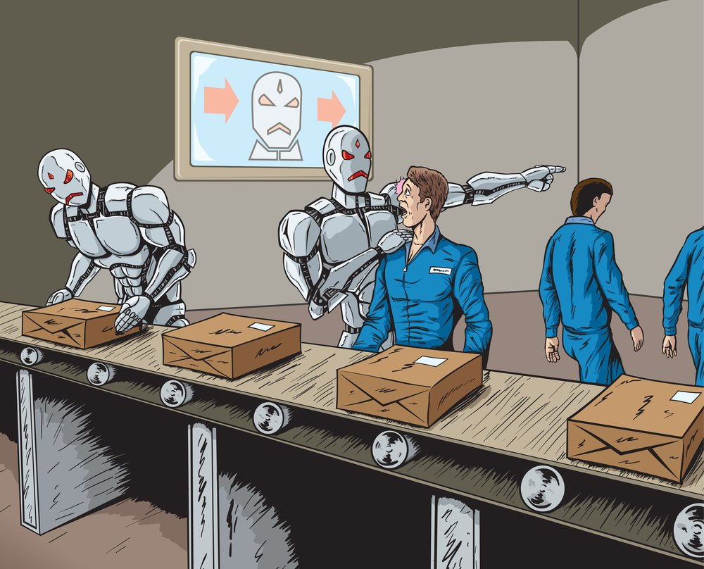 Robots taking our jobs!