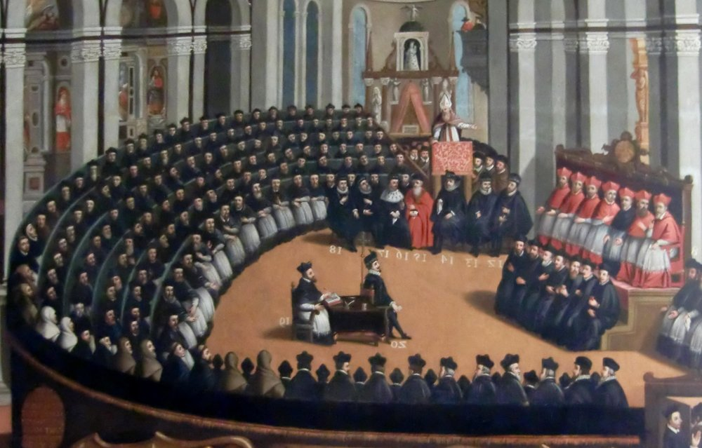 Council of Trent (Held between 1545 - 1563)