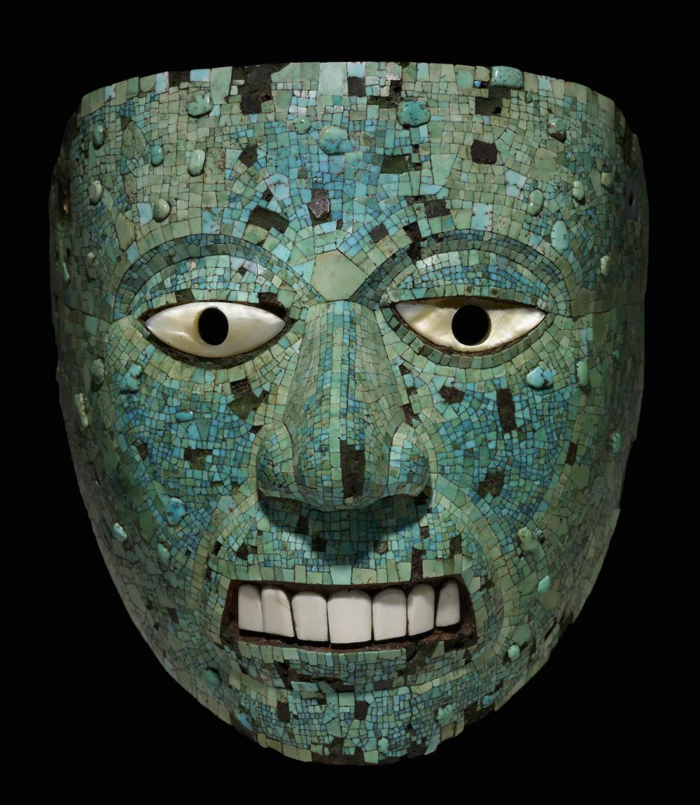 Aztec mask.