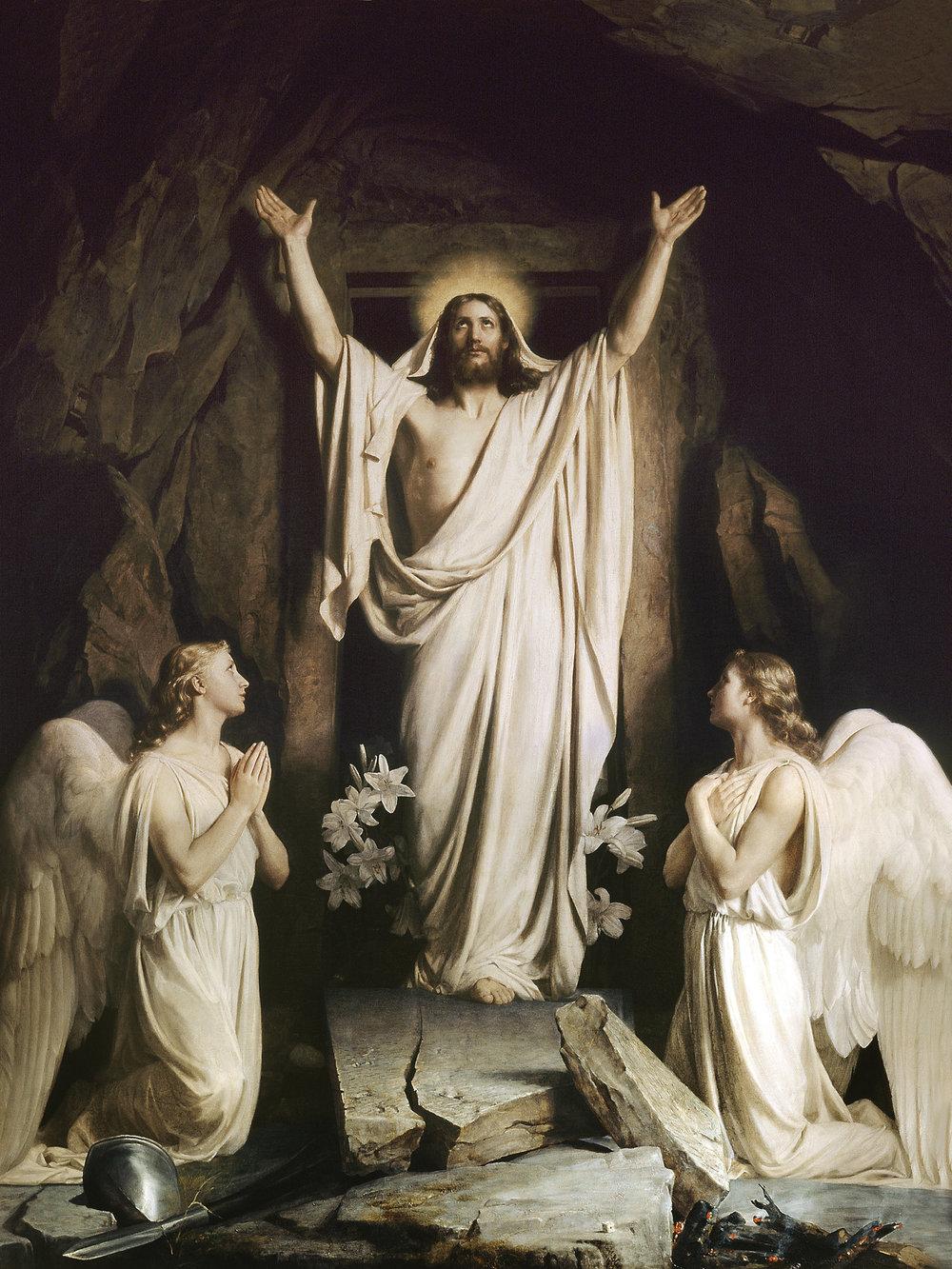 A fantasticaldepiction of Jesus' bodily resurrection.