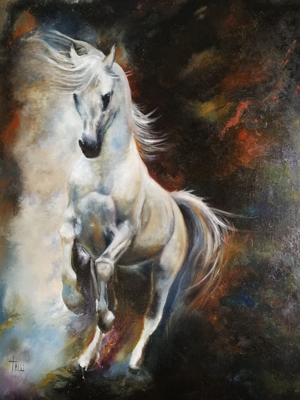 The White horse from Revelation 6:2