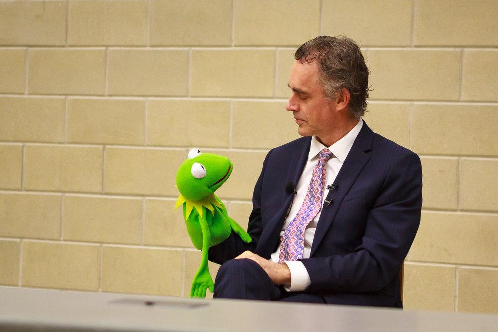 Jordan and Kermit.