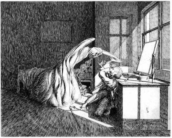 Illustration by James McBryde (1904).