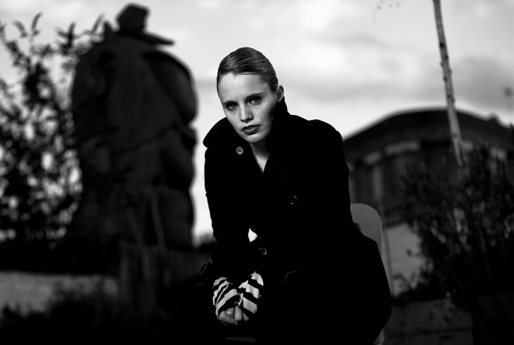 Anna Calvi for The Stool Pigeon