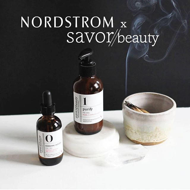 #Repost @savorbeauty ・・・ 💕 Now available at Nordstrom.com. 💕 Link in bio. #savorbeauty #nordstrombeauty