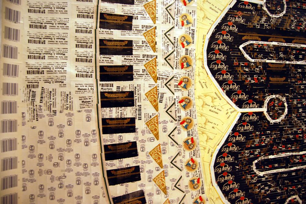 Coptic Leaf DETAIL
