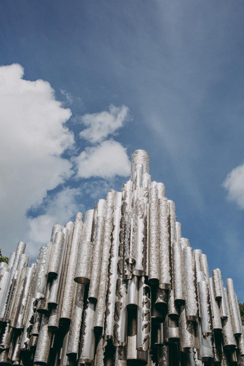 Sibelius Monument.