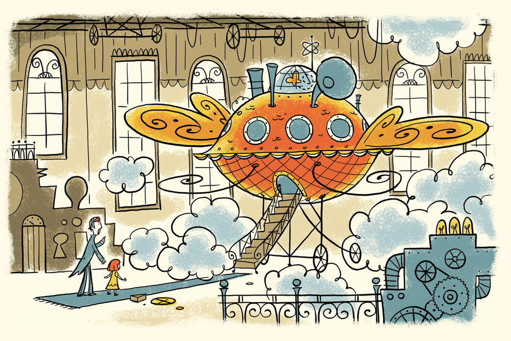 Illustration plate / The Story Of Belle & Wissell Client: Belle & Wissell (2008)