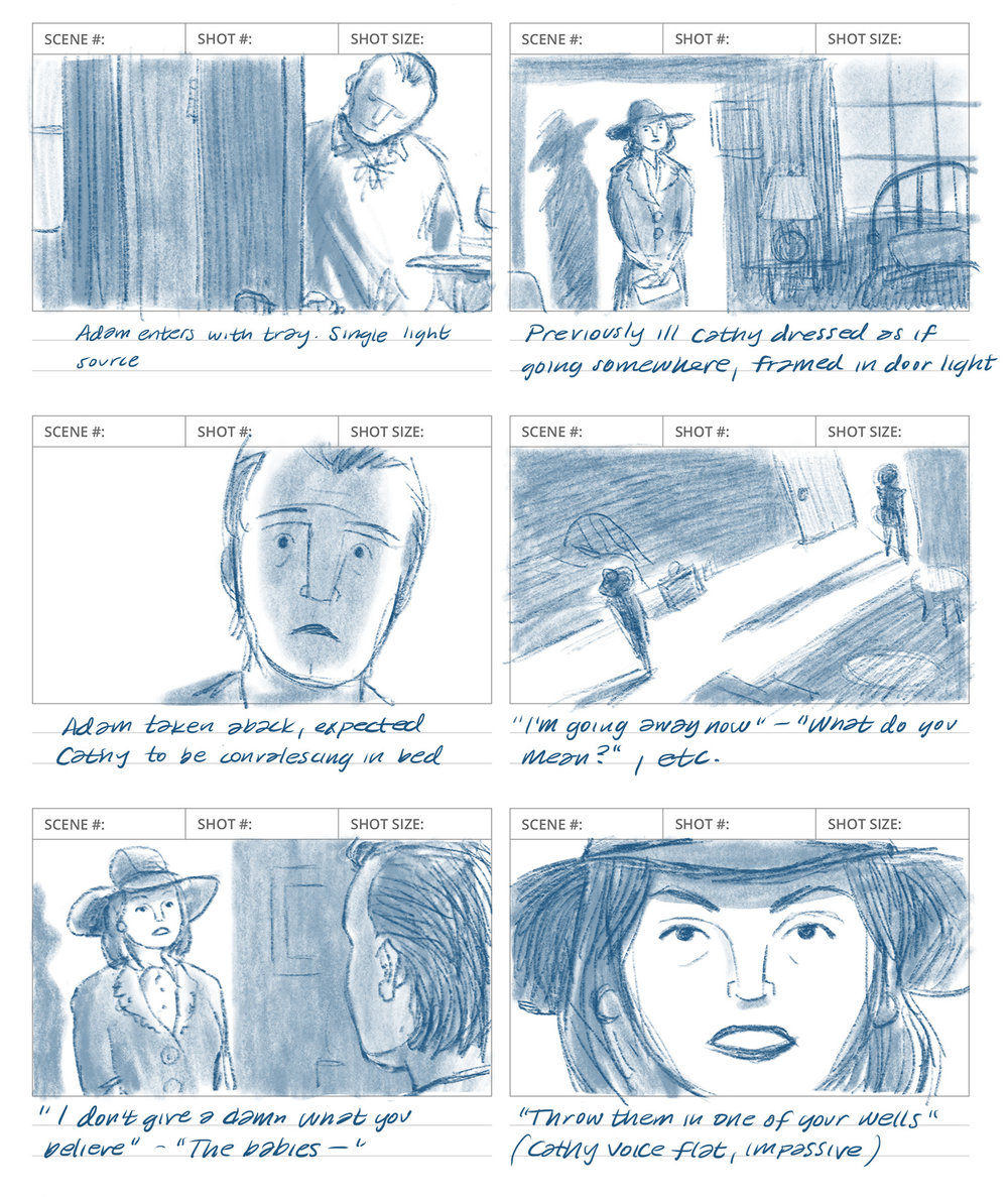 Sample storyboard sequence (2016)