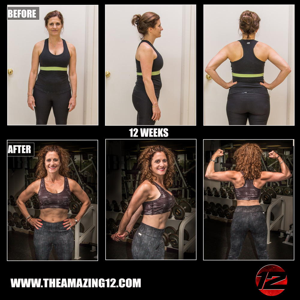 Thanks to Amanda Hudson the Amazing 12, I've lost 22 pounds in 12 weeks and gone from tight size 6's to loose size 4's. Thank you so much Amanda for helping me get my confidence back, changing my eating habits, and teaching me two new healthy hobbies I love - kettlebell and weight lifting! The Amazing 12 was absolutely worth every penny and commitment time spent! -Joey Wilson
