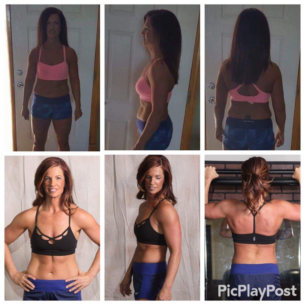 Stacie Klausmeyer, Goddard, Kansas Online training 14 weeks