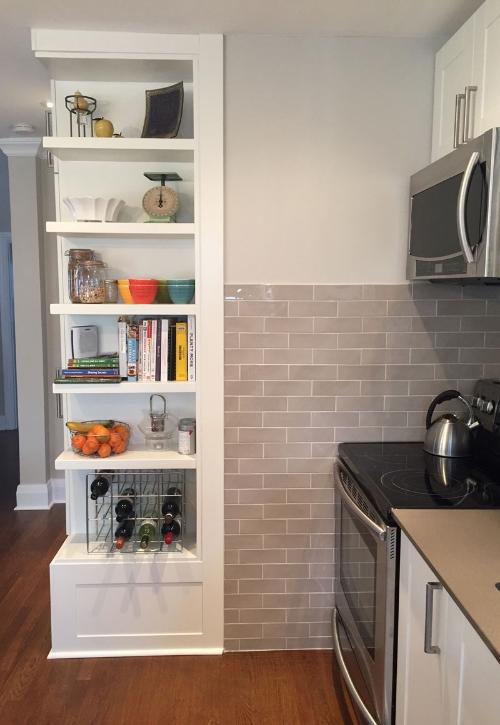 Kitchen | Open Shelving