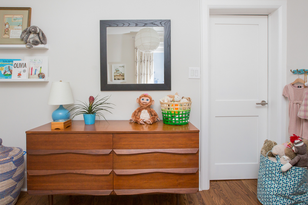 Toddler's Room | Midcentury Dresser