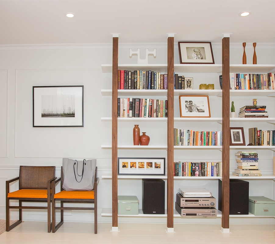 Glen Road Bookshelves