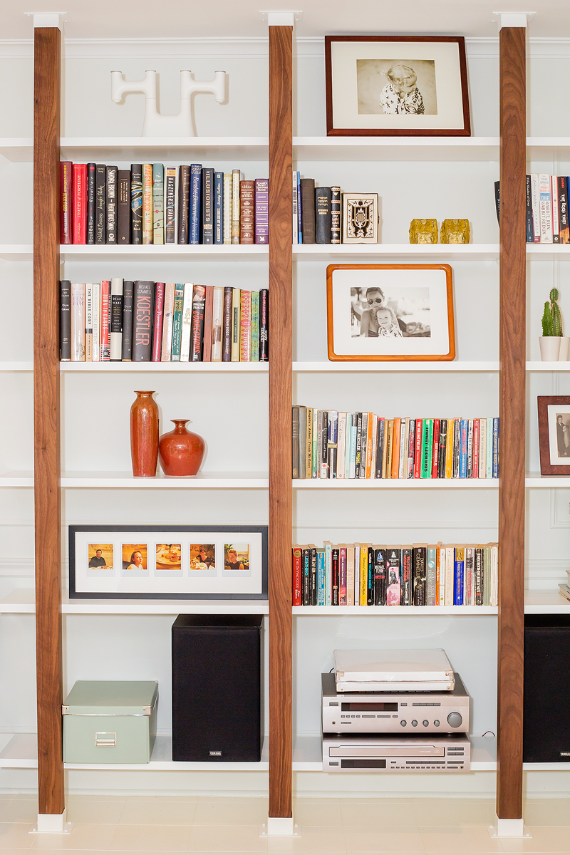 Glen Road Custom Bookshelves