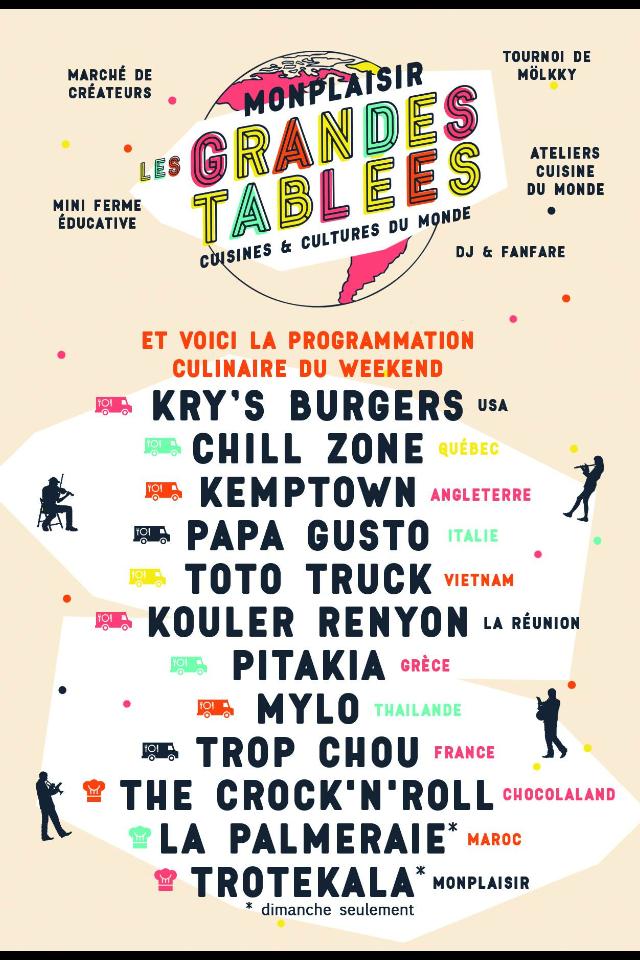 Les Grandes Tablées - Lyon - Mai 2017