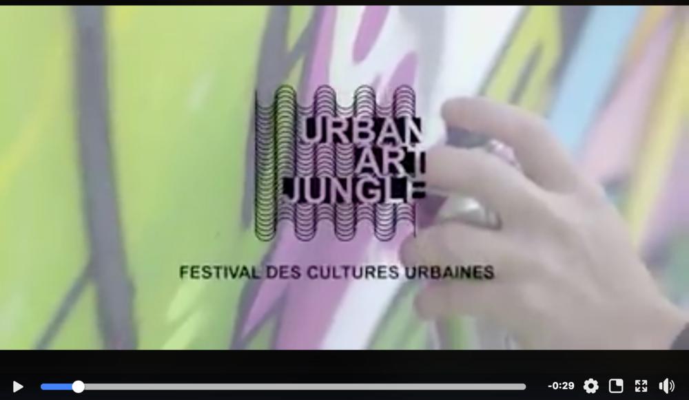 Evénement ! - La 4ème édition de l'Urban Art Jungle Festivalest de retour le 23, 24 & 25 février prochain au Croiseurà Lyon.