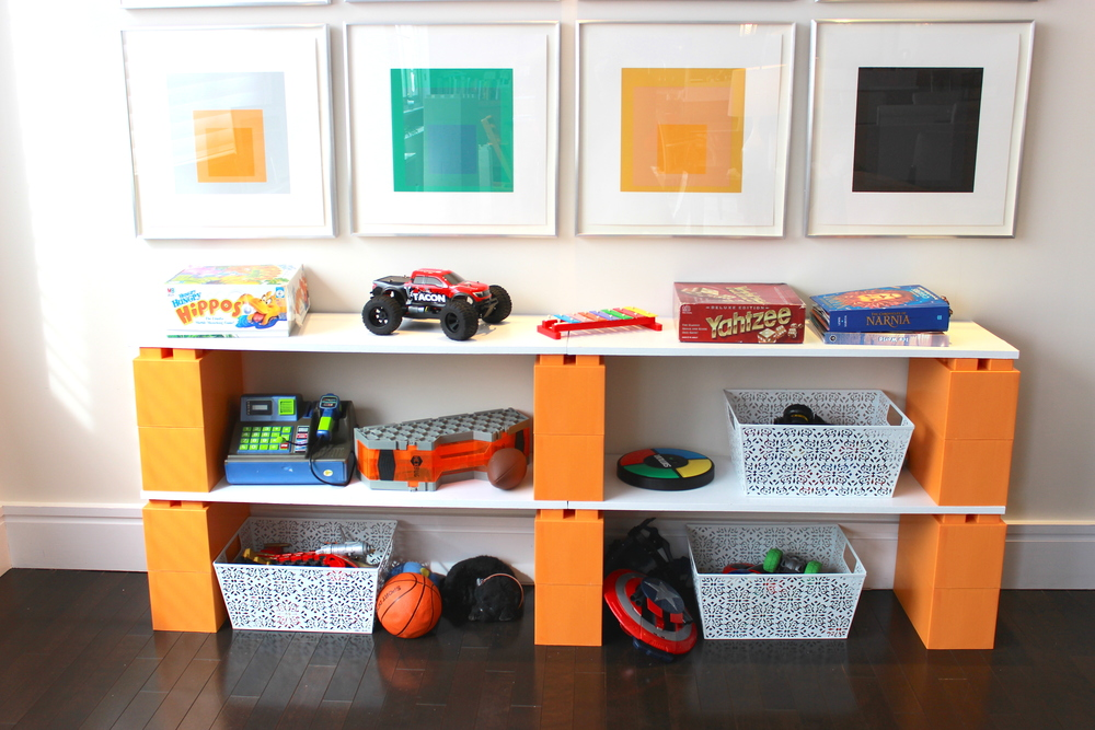 Ideal for toy storage and kids rooms shelving.